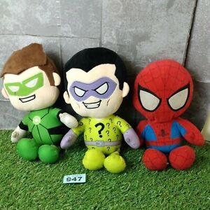 DC Comic Marvel Plush toys Spiderman bundle