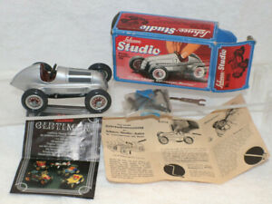 Schuco Studio 1050 Mercedes Grand Prix 1936 Race Car Tools Box Instructions