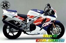 HONDA 3 COLOUR TOUCH UP PAINT KIT CBR900RR 1992 ROSS WHITE DIONYSUS BLUE AND RED