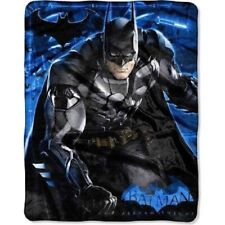 New Fleece Licensed Batman Arkham Knight Plush Throw Gift Blanket Soft Superhero