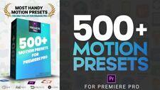 Adobe Premiere Pro 500+ Most Handy Motion Presets Digital Download