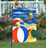 Toland Beach Balls 12.5 x 18 Colorful Summer Sand Ocean Boat Garden Flag