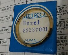 Genuine NOS Gold Tone Bezel for King Seiko KS 5625/5626-8000/8010 etc - SEE LIST