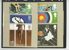 2009 OLYMPICS - BADMINTON H/S FDI PHQ CARD SET FROM COLLECTION BX2/9