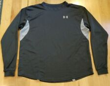 Under Armour Men's Gray Long Sleeve Athletic Shirt Size S