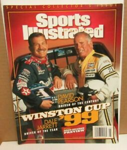 Sports Illustrated Special Collector's Issue Winston Cup '99 Jarrett/Pearson