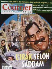 Courrier International   N°625   24 Oct 2002 : L'irak selon sadam
