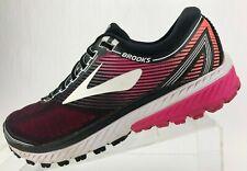 7ec95331 Brooks Ghost 10 кроссовки черный розовый обучение спортивные кроссовки  женские 10 B