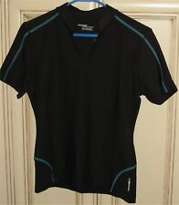 "Women's Large 18.75"" MEXXSPORT DRYNAMIC Golf T Shirt Top V Neck mexx sport"