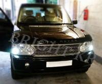 Range Rover Vogue L322 Xenon ICE WHITE 8 SMD Side Light LED Bulbs - ERROR FREE