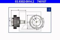 Entlüfterstutzen NUOVO ATE 03.9302-0702.2