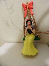 GROLIER Disney PRINCESS SNOW WHITE ON SWING Ornament # 128 Christmas