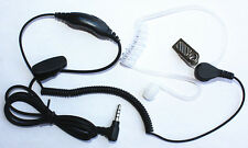 FBI Headset Earpiece PTT 3.5mm Single Plug for Vertex VX160,VX180,VX230