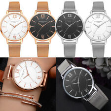 Women Fashion Quartz Stainless Steel Mesh Belt Watch Alloy Analog Wrist Watch US
