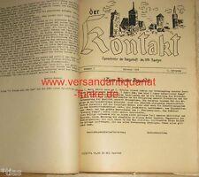 Empaquetarlos HPA Bautzen Sajonia 35 x contacto periódico de funcionamiento 1956 1958