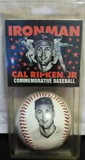 Cal Ripken Jr Ironman Commemorative Stats Photo Baseball In Pack