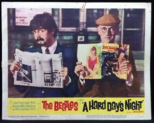 BEATLES Hard Day's Night 1964 Movie Lobby Card Poster #8