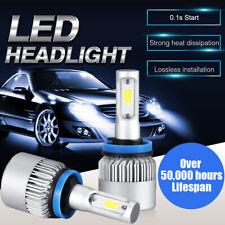 1pair H11 Cree Led Low Beam Headlightfog Lights Bulbs Kit High Power