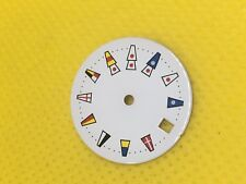 vintage Original swiss watch dial Movement Case 19.5 mm 100% New #Wd05#