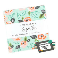 Moda Charm Pack SUGAR PIE Patchwork Sewing Quilting 5 inch Squares Fabric New