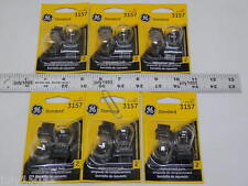 (12) GE 3157 Miniature Lamp Bulb 27w 8w Plastic Wedge 12 volt S8 12v Free Ship