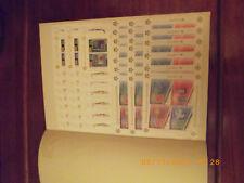 Briefmerken-Sammlung 50 Jahre Cept Jeweils 5 Mal.Über 2500 Euro