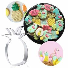 New Cake Mould Bakery Stainless Steel Cutter Fruit Pineapple Mold Cookie