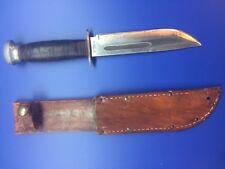 "PAL RH-36 WWII FIGHTING KNIFE WITH SHEATH 6 1/4"" BLADE"