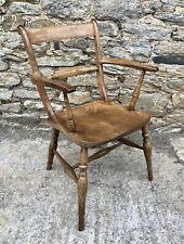 Antique Windsor Bar Back Carver Chair