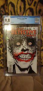 DETECTIVE COMICS #880 CGC GRADE 9.8 - CLASSIC JOCK JOKER COVER - DC 2011