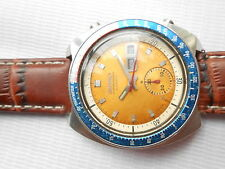 USED VTG SEIKO PEPSI BEZEL 6139-6002 AUTOMATIC CHRONOGRAPH GENTS WRISTWATCH