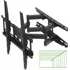 supporto staffa parete tv led 20p 32p 42p 46p 50p 55p 60 pollici braccio monitor