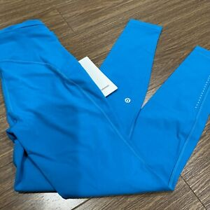 """Lululemon Swift Speed High Rise Tight 28"""" Teal/ HWIB Luxt NWT Free Shipping"""