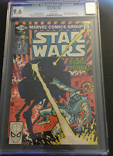 STAR WARS 45 CGC 9.6 WHITE PAGES DEATH OF DAMON KRELL SKYWALKER R2-D2 TEAM UP