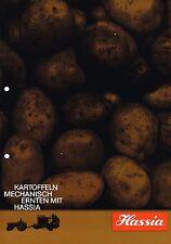 Hassia Kartoffelvollernter, orig. Prospekt 60/70er Jahre