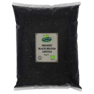 Organic Black Beluga Lentils Certified Organic