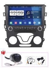 "Camera+Map 9"" Android 5.1 Radio DVD GPS Satnav For Ford Mondeo Fusion 2013-2014"