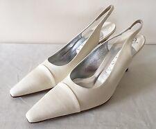 Gina Cream Slingback Heels UK 5.5 BNIB (Price Reduced!)