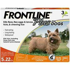 Plus Flea and Tick Treatment for Dogs (Small Dog, 5-22 Pounds, 3 Doses)