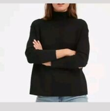 Everlane New Womans Cashmere Square Neck Sweater Size Small