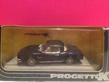 PROGETTOK SUPERBE FIAT DINO SPYDER 2000 HARD TOP BLU NEUF EN BOITE 1/43