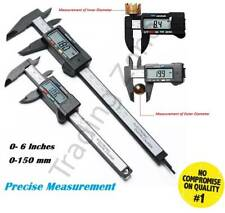 "Digital Vernier Caliper Electronic LCD Ruler Gauge 6"" /150mm Accurate Measuring"