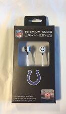 Indianapolis Colts iHip Premium Audio Earphones Earbuds - iPhone iPod NEW