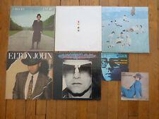 LOT DE 7 disques  33 et 45 TOURS VINYLES ELTON JOHN