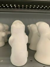 Halloween Ghost Sling Shot Jelly Beans *Ceramic Bisque Ready to Paint
