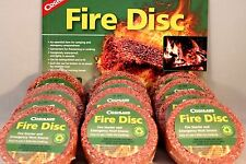 12 PK FIRE STARTER DISK WATERPROOF CEDAR EMERGENCY USE WITH HEXAMINE ESBIT STOVE