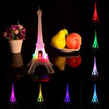 Romantic Eiffel Tower Desk Christmas Bedroom Night Light Table LED Lamp Decor