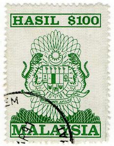 (I.B) Malaysia Revenue : General Duty $100 (1990)