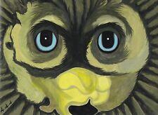 Spirit Eyes original acrylic painting by inmate artist 444