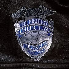 THE PRODIGY - THEIR LAW-THE SINGLES 1990-2005 2 VINYL LP NEW!